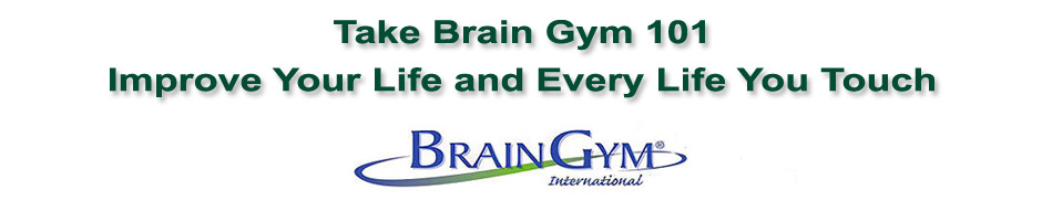 Brain Gym Logo with etxt take brain gym 101 improve your life and every life you touch