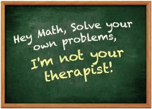 Funny math meme dyscalculia